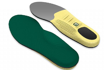 Polysorb Insoles, Top and Bottom View