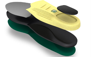 Polysorb Insoles, Seperate Layers View