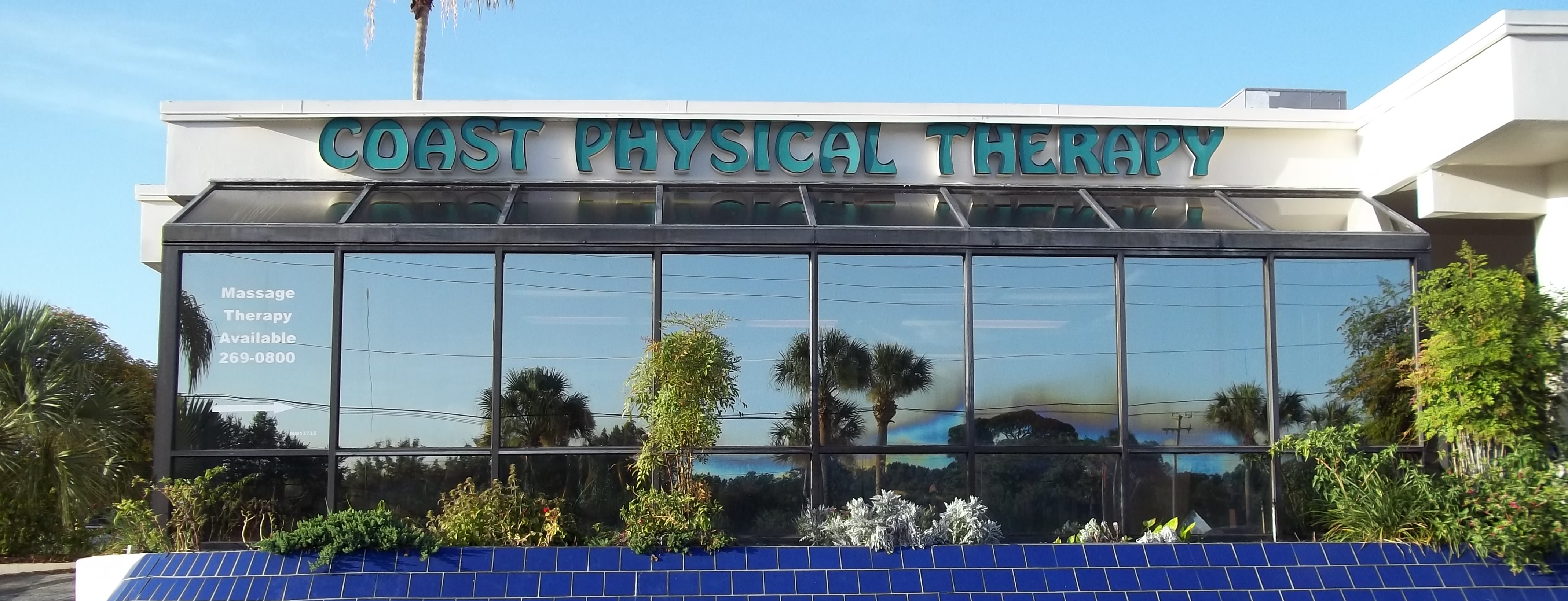 Coast Physical Therapy Clinic and Facility, View from Outside